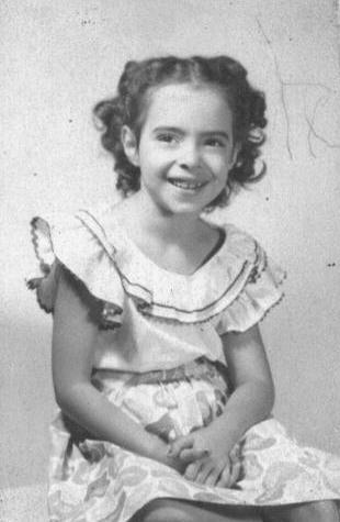 This is my mom as a young girl, Susan Adrienne Mann Yaffee