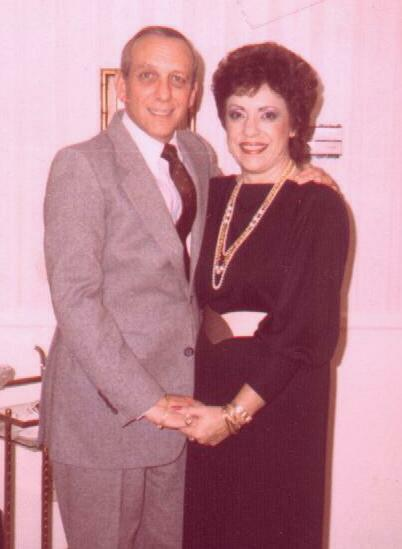 Here are my parents, Michael & Susan Yaffee.
