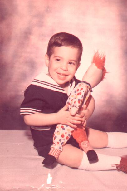 Baby Scott (have no idea how old I was-probably 2)